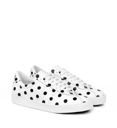 Sneakersy Damskie Superga x Radzka 2843 Clubs Comfleau Fantasy White Cloud Dot
