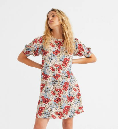 Sukienka Damska Thinking MU Small Flowers Floreta Multicolor