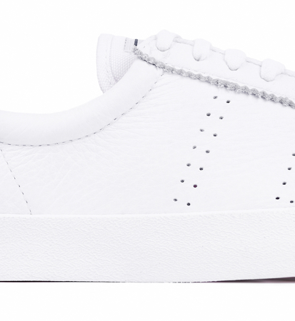 Superga 2843 Clubs Comfleau White Fuxia