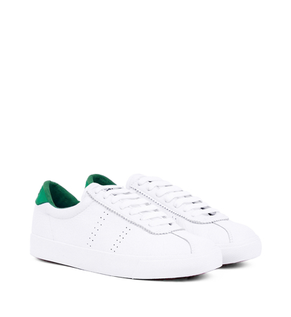 Superga 2843 Clubs Comfleau White Island Green