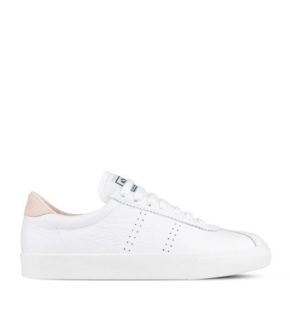 Superga 2843 Clubs Comfleau White Pink