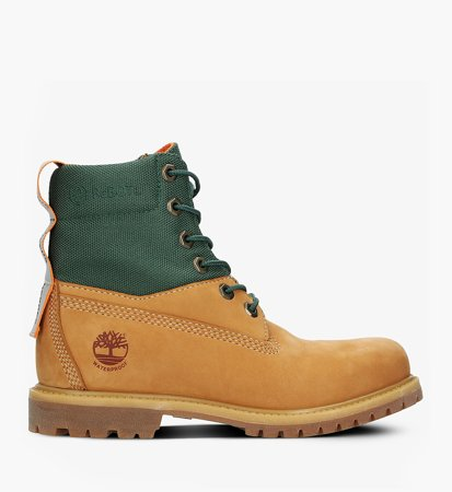 Timberland Premium 6 Inch Rebotl WP Boot Brown Green