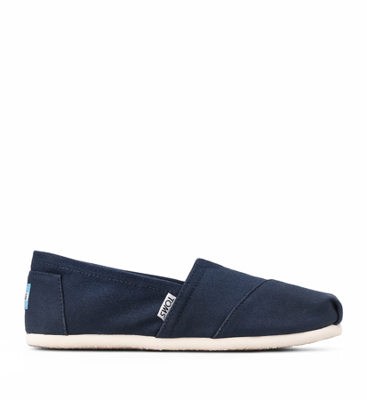 "Toms Canvas Men""S Classic Alpargata Ni Navy"