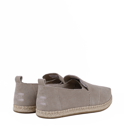 "Toms Suede Women""S Deconstructed Alpargata Desert Taupe Suede"