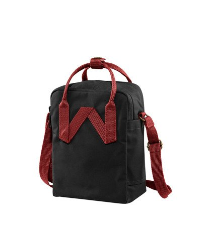 Torba Fjallraven Kanken Sling Black Ox Red