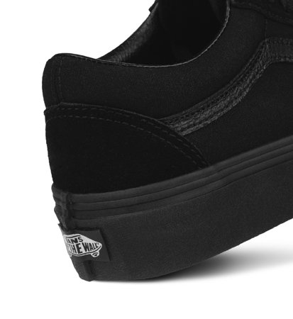 Vans Old Skool Platform Black Black