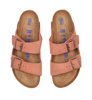 Birkenstock Arizona SFB Welur Earth Red Narrow-3