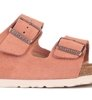 Birkenstock Arizona SFB Welur Earth Red Narrow-4