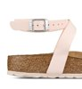 Birkenstock Blanca Birkoflor Brushed Light Rose Narrow-4