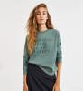 Bluza Damska Ecoalf Cervino Sweatshirt Green Shadow-1