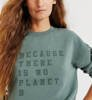 Bluza Damska Ecoalf Cervino Sweatshirt Green Shadow-2