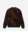 Bluza The North Face Fleeski Crew Fleece Flare Shibori-9