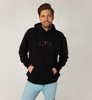 Brixton Broke Hooded Fleece Black-1