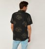 Brixton Charter Print Woven Washed Black-3
