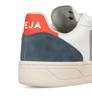 Buty Damskie Veja V-10 Leather Extra White/Oxford Grey/Orange Fluo-6