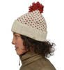 Czapka zimowa Patagonia Snowbelle Beanie Simple Dot Knit: Hot Ember-3