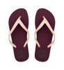Ecoalf Mar Flip Flop Woman Burgundy-3