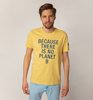 Ecoalf Natal Classic Because T-Shirt Yellow-1