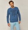 Ecoalf San Diego Because Sweatshirt Ocean Blue-1