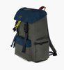 Ecoalf Wild Sherpa Backpack Dark Khaki-2