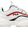 Fila Ray Low White Navy Red Damskie-5
