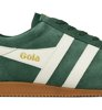 Gola Harrier Suede Evergreen Off White-5