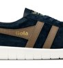 Gola Hurricane Suede Navy Tobacco Off White-5