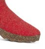Kapcie Damskie Asportuguesas Come Red Double/Black Sole-4