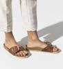 Klapki Damskie Birkenstock Madrid Big Buckle FL Cognac HEX Narrow-5