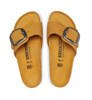 Klapki Damskie Birkenstock Madrid Big Buckle NU Apricot Narrow-2