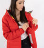Kurtka Damska Fjallraven Expedition Pack Down Hoodie Women True Red-2