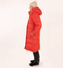 Parka Damska Fjallraven Expedition Long Down Parka True Red-1