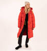 Parka Damska Fjallraven Expedition Long Down Parka True Red-4