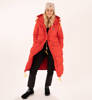 Parka Damska Fjallraven Expedition Long Down Parka True Red-6