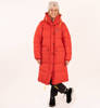Parka Damska Fjallraven Expedition Long Down Parka True Red-8