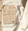 Płaszcz Damski The North Face Cragmont Fleece Coat Bleach Sand/Hawthorn Khaki -6