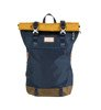Plecak Doughnut Christopher Glossy Blocking Series Navy x Mastard-1