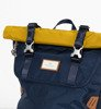 Plecak Doughnut Christopher Glossy Blocking Series Navy x Mastard-4