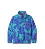 Polar Damski Patagonia Lightweight Synchilla Snap-T P/O Kalani Big: Float Blue-3