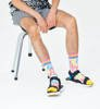 Skarpetki Happy Socks Sneaker Sock 3/4 Crew Kolorowe Kable-2