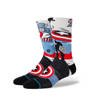 Skarpety Stance U Captain America Marquee Off White-3