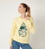 Volcom Sound Check Sweater Faded Yellow-1